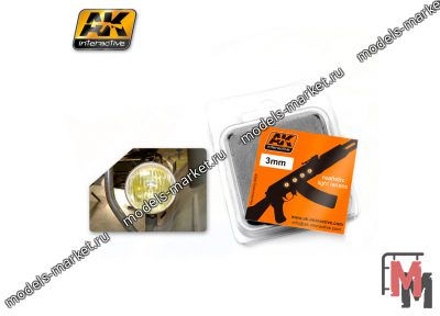 AK Interactive - AK-214 - AMBER 3mm