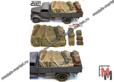 Value Gear - GOB03 - Opel Blitz German Cargo Truck Load #3