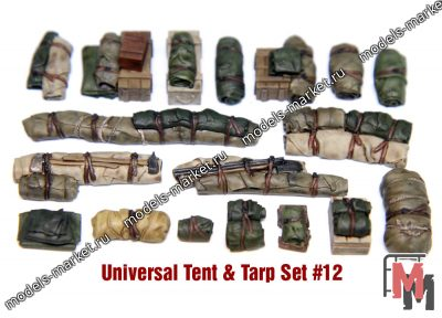 Value Gear - VG012 - Tents & Taprs #12 (18 Pieces)