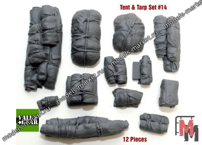 Value Gear - VG014 - Tents & Taprs #14 (12 Pieces)