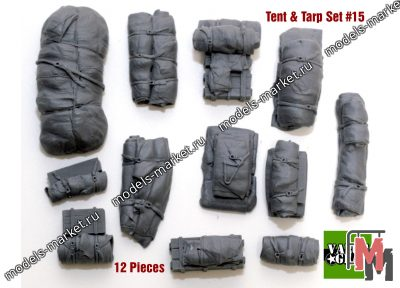 Value Gear - VG015 - Tents & Taprs #15 (12 Pieces)
