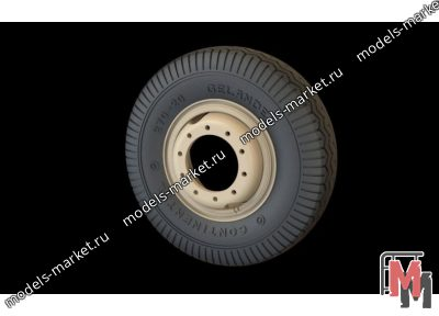 Panzer Art - RE35-293 - Road wheels Sd.Kfz 234  (Commercial A)