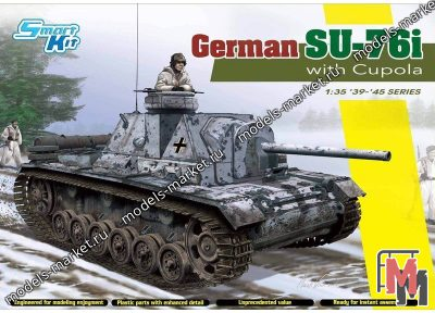 Dragon - 6856 - German SU-76i with Cupola