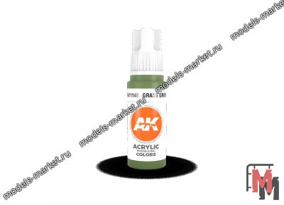 AK Interactive - AK-11140 - Grass Green 17ml