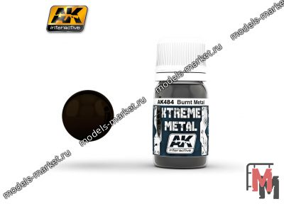 AK Interactive - AK-484 - XTREME METAL BURNT METAL